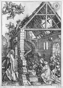 The Nativity, from the 'Life of the Virgin' series von Albrecht Dürer