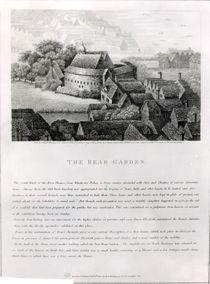 Bear Garden, 1647 by Wenceslaus Hollar