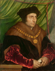 Portrait of Sir Thomas More von Hans Holbein the Younger