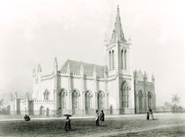 Trinity church, Port of Spain von Eugene Ciceri