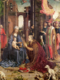 The Adoration of the Kings von Jan Gossaert