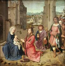 Adoration of the Kings, 1515 von Gerard David