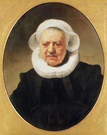 Portrait of Aechje Claesdar von Rembrandt Harmenszoon van Rijn