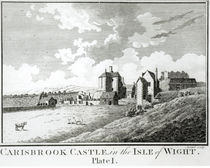 Carisbrook Castle, Isle of Wight by English School