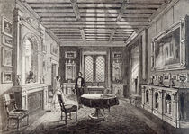 The Crimson Drawing Room, Lansdown Tower by English School