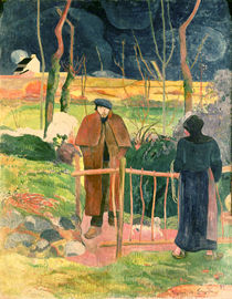 Bonjour, Monsieur Gauguin, 1889 by Paul Gauguin