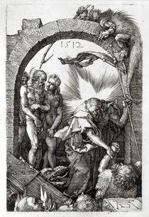 Harrowing of Hell or Christ's descent into Limbo by Albrecht Dürer