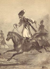 A Cossack Horseman von English School