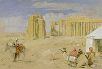 The Ramesseum at Thebes, c.1850