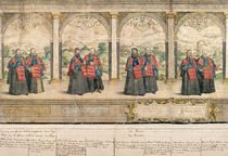 Imaginary Composite Procession of the Order of the Garter at Windsor von English School