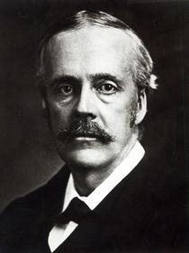 Portrait of Arthur James Balfour by English Photographer