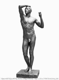 The Age of Bronze, after 1877 by Auguste Rodin