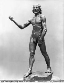 St. John the Baptist, 1878-80 by Auguste Rodin