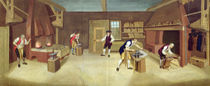 The Forge, c.1750 by English School