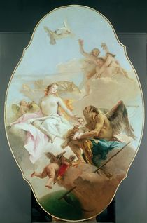 An Allegory with Venus and Time von Giovanni Battista Tiepolo