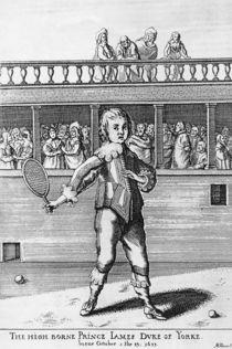 Prince James- Duke of York by Matthaus, the Elder Merian