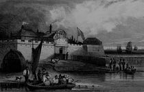View of Tilbury Fort, engraved by H. Adhard by English School