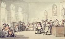 The Pump Room, from 'Scenes at Bath' von Thomas Rowlandson