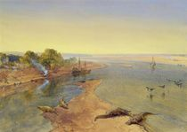 The Ganges, 1863 von William 'Crimea' Simpson