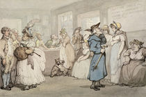 Register Office for the Hiring of Servants by Thomas Rowlandson