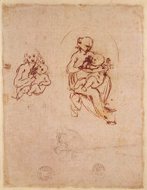Study for the Virgin and Child by Leonardo Da Vinci