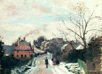 Fox hill, Upper Norwood, 1870 by Camille Pissarro