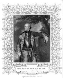 Portrait of John Manners, Marquis of Granby von English School