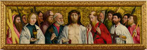 Christ and the Twelve Apostles by German School