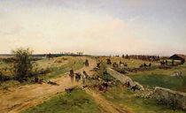 Scene from the Franco-Prussian War by Alphonse Marie de Neuville