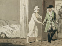 The Cuckold departs for the Hunt von Isaac Cruikshank