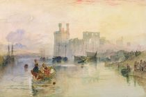 View of Carnarvon Castle by Joseph Mallord William Turner