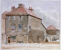 View of an Old House in High street von J. Findley