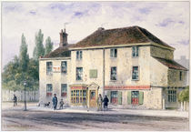 Pied Bull Public House, 1848 by Thomas Hosmer Shepherd