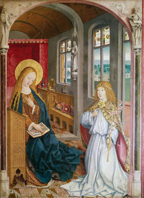 The Annunciation by Master of Liesborn