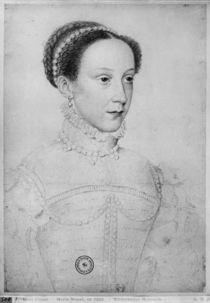Mary Queen of Scots, 1559 by Francois Clouet