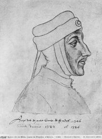 Ms 266 fol.54 Louis II of Flanders by Flemish School