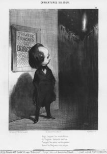 Series 'Caricatures du jour' by Honore Daumier