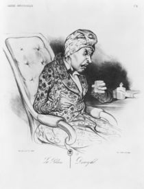 La Potion, Draught, from 'Galerie physionomique' von Honore Daumier