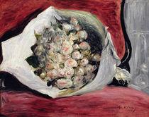 Bouquet in a theatre box, c.1878-80 von Pierre-Auguste Renoir