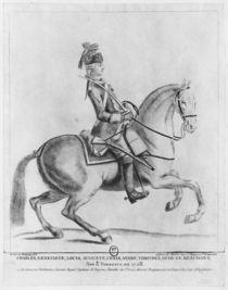 The Chevalier d'Eon as a Dragoon von Robin de Montigny