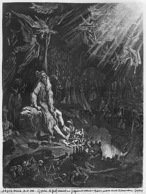 The Wandering Jew and the Last Judgement by Gustave Dore