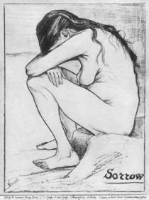 Sorrow, 1882 von Vincent Van Gogh