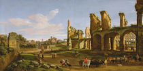 The Colosseum and the Roman Forum von Gaspar van Wittel