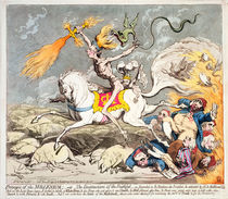 Presages of the Millennium by James Gillray