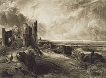 Hadleigh Castle, engraved by David Lucas c.1832 by John Constable