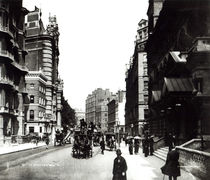 Victoria Street, London, c.1890 by English Photographer