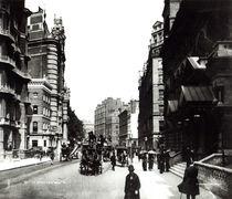 Victoria Street, London, c.1890 by English Photographer