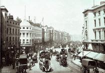 Regent Street, London c.1900 by English Photographer