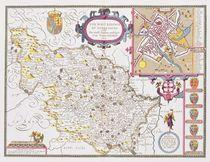 The West Ridinge of Yorkeshyre by John Speed
