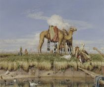On the Banks of the Nile, Upper Egypt by John Frederick Lewis